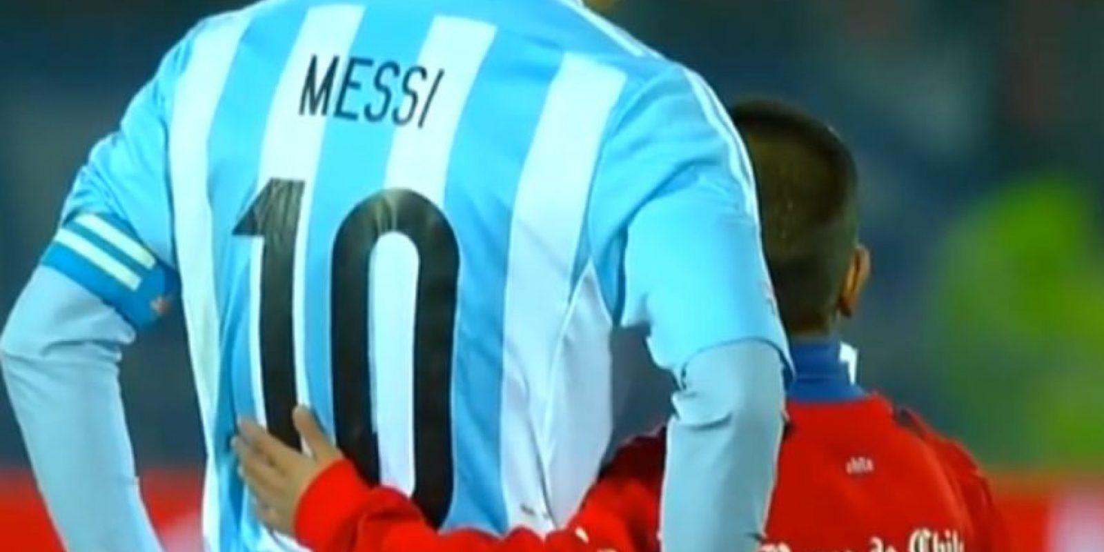 Messi en la final de la Copa América 2015
