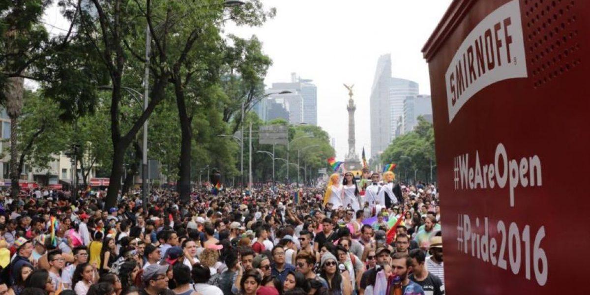 El color y parafernalia de la Marcha del Orgullo LGBTTTI