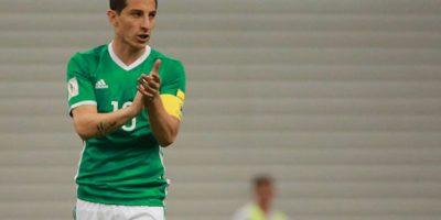 Andrés Guardado, mediocampista del PSV holandés. Foto:Getty Images