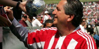 Jorge Vergara, propietario de las Chivas. Foto:Getty Images