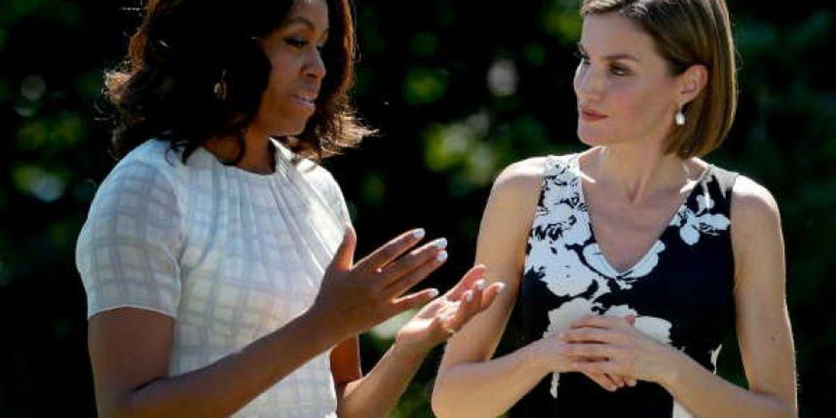 La Reina Letizia y Michelle Obama serán cómplices de Estado