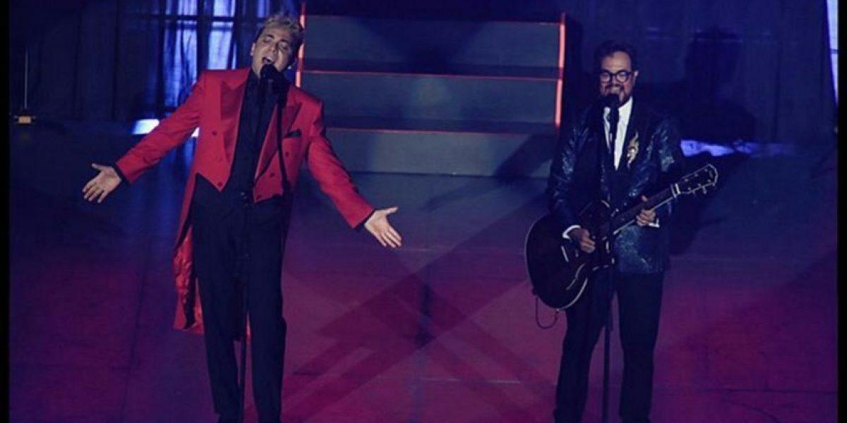 Cristian Castro y Aleks Syntek emocionan a un repleto Auditorio Nacional