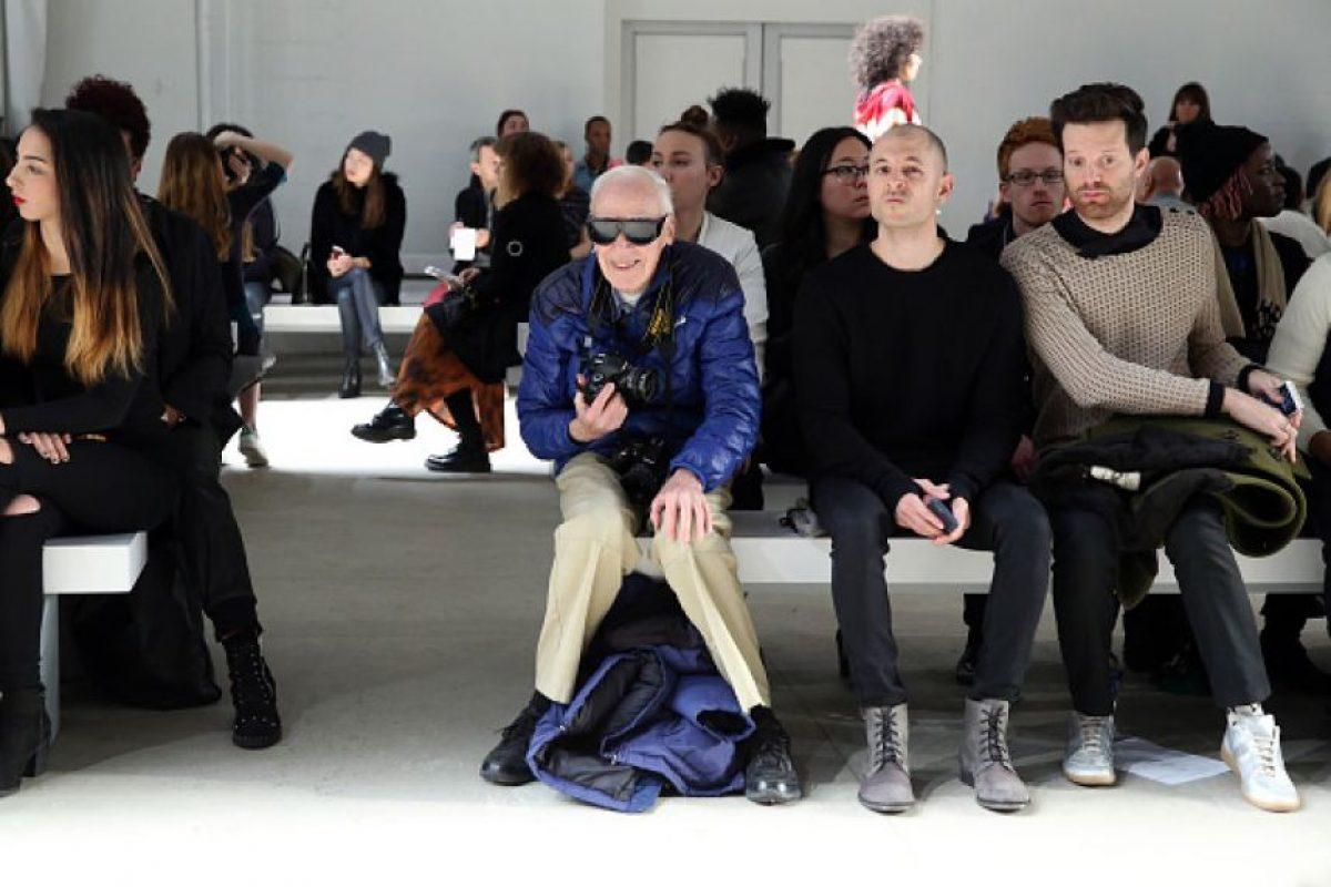 Bill Cunningham retrataba lo mejor de la moda de Nueva York, tanto en pasarelas como en las calles Foto:Gettyimages
