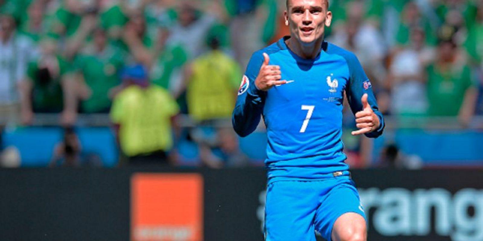 "El delantero francés festejó a la ""Hotline Bling"". Foto:Getty Images"
