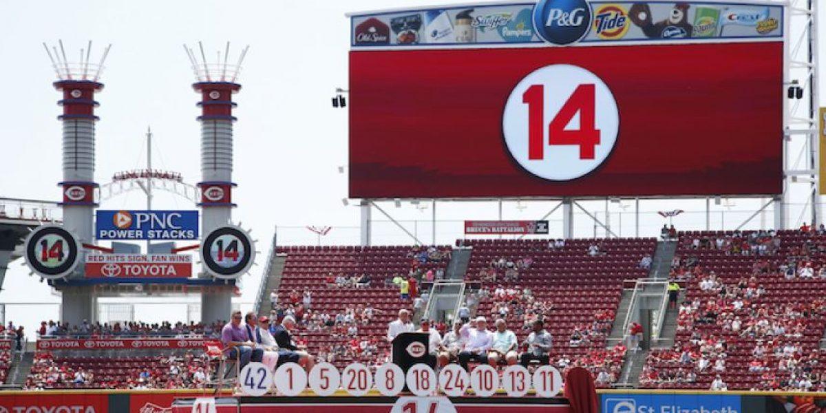Rojos de Cincinnati retiran número de Pete Rose