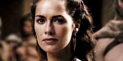 Lena Headey interpretó a la valiente esposa de Leónidas. Foto:Warner