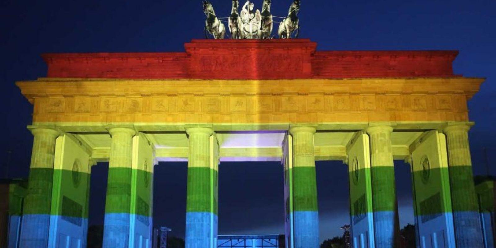 """Más que el """"orgullo"""" como tal, la comunidad gay pelea por la dignidad de cada uno de sus integrantes. Foto:Getty Images"""