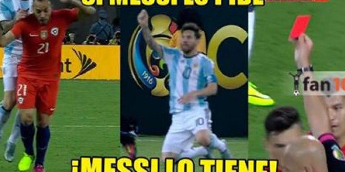 Los memes de la final Argentina vs. Chile en Copa América