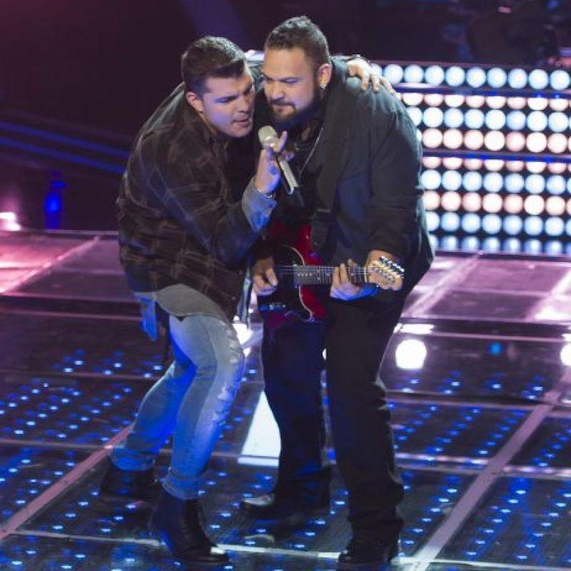 Iván Tacher y Luis Díaz protagonizaron la última batalla, de la cual resultó vencedor Iván. Foto:Televisa