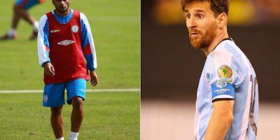 Max Biancucci puede presumir que es primo de Lio Messi, pero solo eso porque no tiene el mismo talento para el futbol. Foto:Especial
