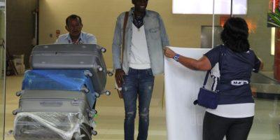 Alexander Domínguez llegó este domingo a la Sultana de Norte. Foto:Israel Salazar