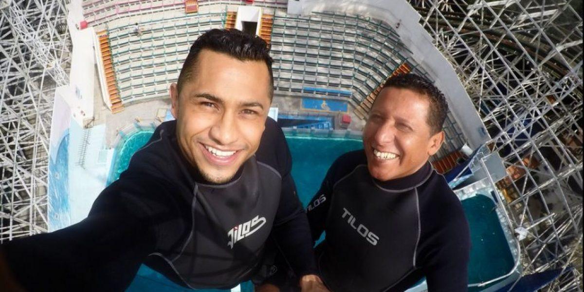 VIDEO: Clavadista mexicano realiza arriesgado salto a días de Río 2016