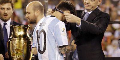 Chile repite como campeón de la Copa América tras vencer a Argentina Foto:AP