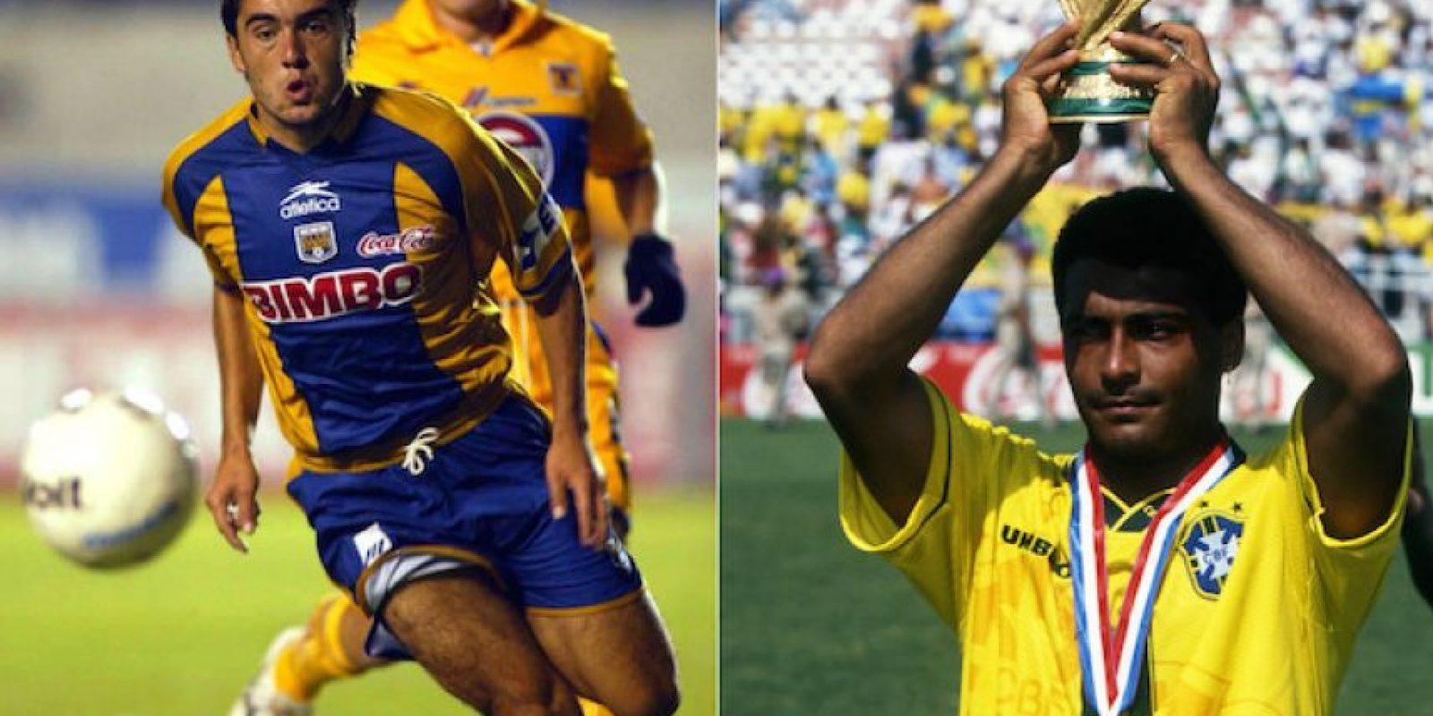 Marcelo de Faria es primo del astro Romario, aunque está claro que no sacaron el mismo talento para el futbol. Foto:Especial