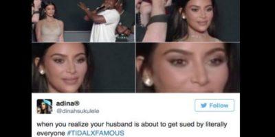 Prácticamente, Kanye no teme a que lo demanden. Foto:vía Twitter