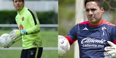 Moisés Muñoz y Carlos Rodríguez compartieron un tiempo juntos en Morelia, ahora Moi es jugador del América y Carlos se ganó la titularidad con Monarcas. Foto:Especial