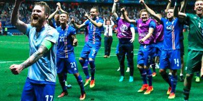 Los islandeses están viviendo su primera Eurocopa en la historia. Foto:Getty Images