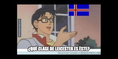 Los mejores memes del triunfo de Islandia sobre Inglaterra en los octavos de final de la Euro 2016 Foto:Memedeportes