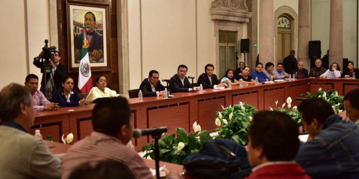 CNTE y Osorio Chong acuerdan mesa con afectados de Nochixtlán