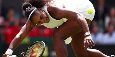 Serena Williams avanza sin problemas en Wimbledon Foto:Getty Images