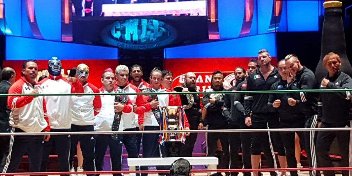 ¡Gana boletos para el Grand Prix del CMLL!