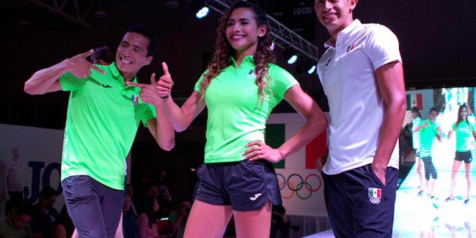 ... Así serán los uniformes de México para los Juegos Olímpicos Foto   Mexsport 4eff149cb7d0b