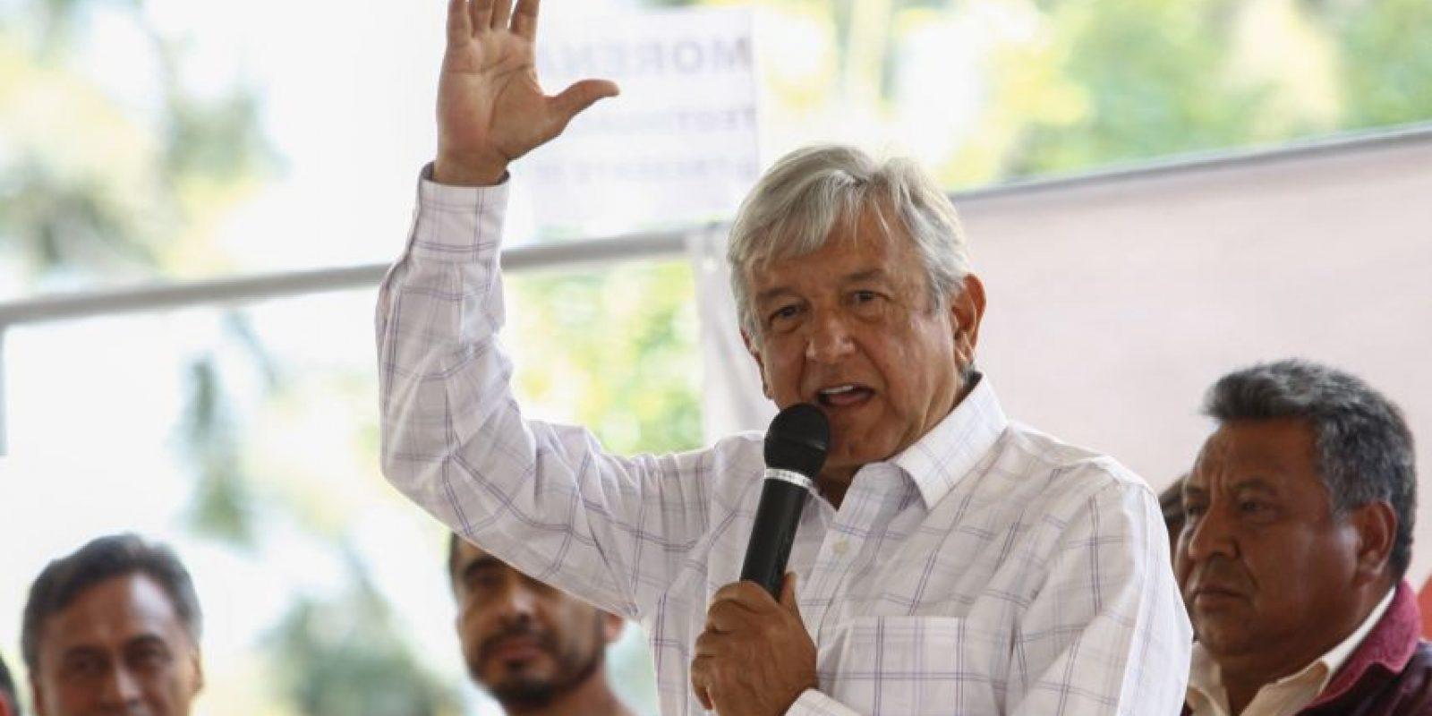 Andrés Manuel López Obrador, dirigente nacional de Morena Foto:Cuartoscuro/Archivo