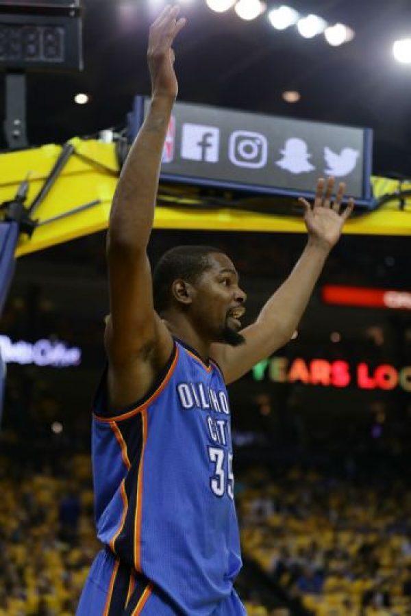 Aunque podría continuar en Oklahoma Thunder Foto:Getty Images