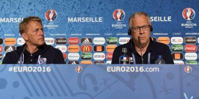 Lagerback y Hallgrimson hacen dupla técnica en la Eurocopa Foto:Getty Images