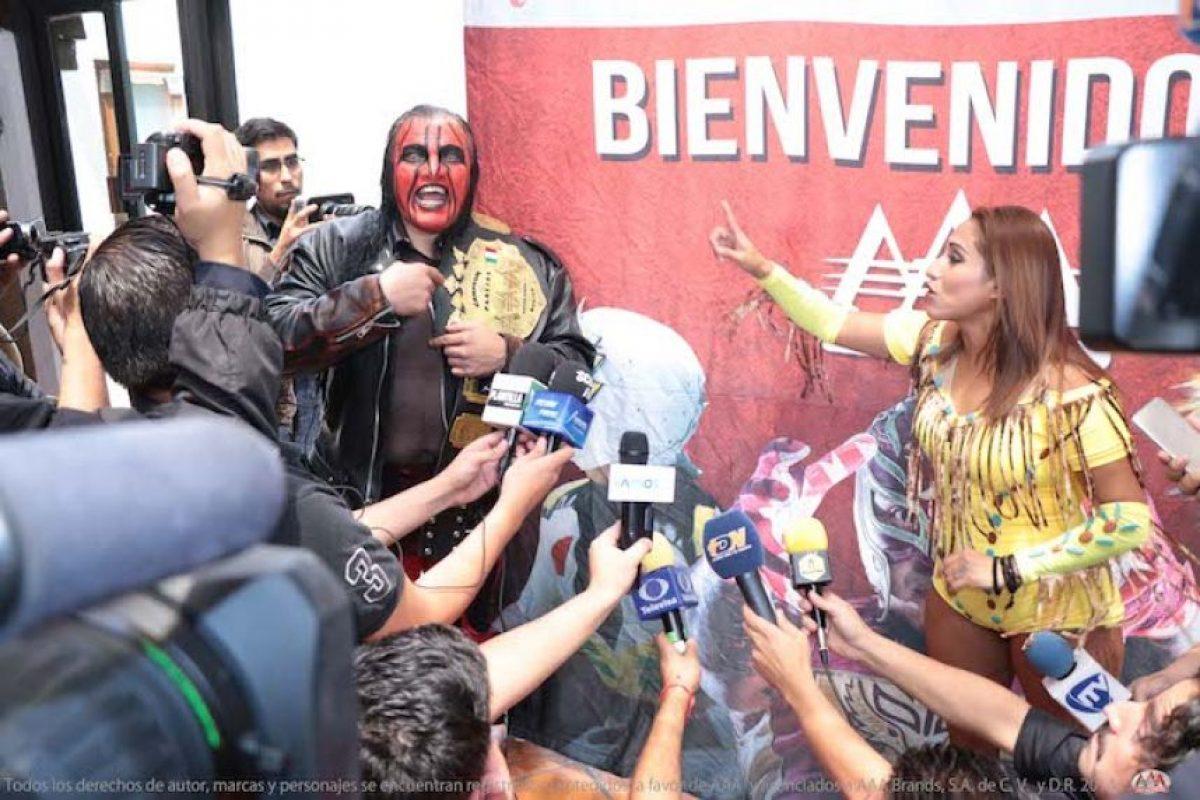 Las hermanas Apache quieren una oportunidad por el título de Averno y Chessman Foto:AAA