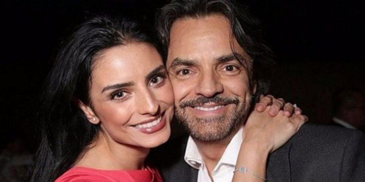 Eugenio Derbez no ha parado de llorar desde que Aislinn se casó