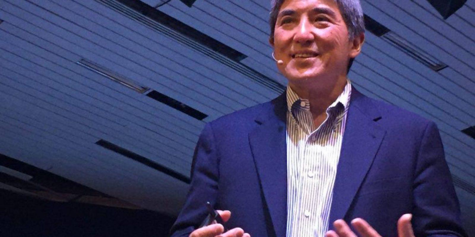 Kawasaki presentaba los nuevos productos de Apple en los 80. Foto:Tomado de Facebook/CampusPartyMexico