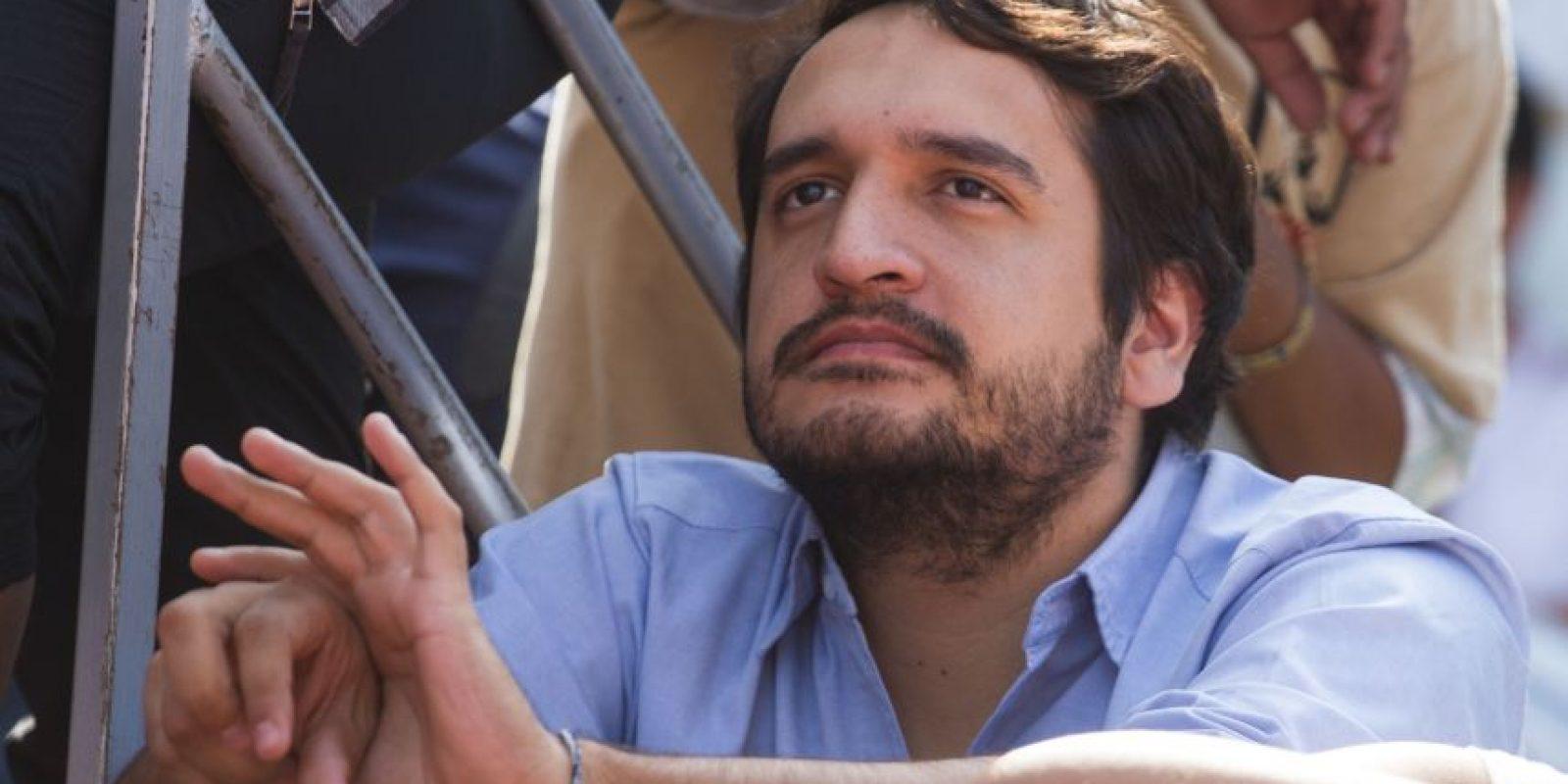 El hijo de López obrador también se vio envuelto en la polémica por unos tenis Foto:cuartoscuro