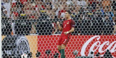 Cristiano abrió la tanda de penales con un buen cobro. Foto:AP