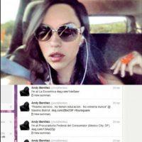 Andrea Benítez, hija del extitular de la PROFECO, amenazó con cerrar un restaurante Foto:Especial