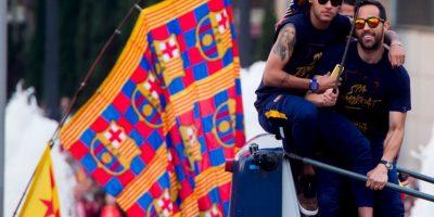 Aunque el presidente de Barcelona ya lo había adelantado, ahora fue el jugador el que confirmó en sus redes sociales que está feliz de 'seguir viviendo el sueño' culé Foto:Getty Images