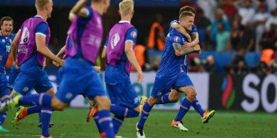 Islandia, por su parte, está protagonizando la gran sorpresa del torneo y eliminó a Inglaterra Foto:Getty Images