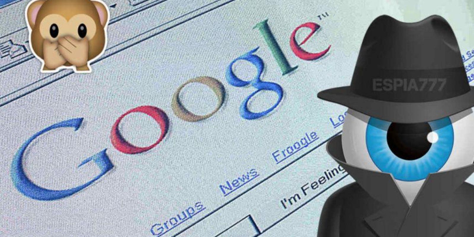 Sí, Google ve casi todo lo que hacen Foto:Getty Images/Edición