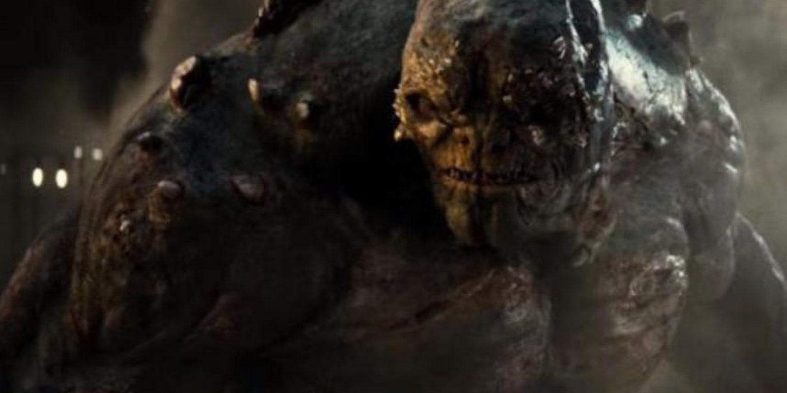 """Doomsday parecía un orco de """"Lord of the Rings"""". Foto:vía Warner"""