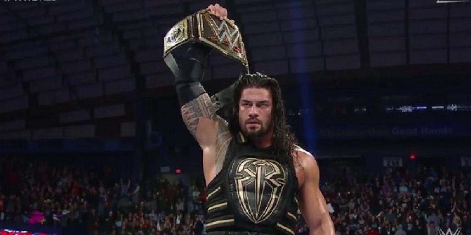 Roman Reigns recibió una suspensión de 30 días Foto:WWE