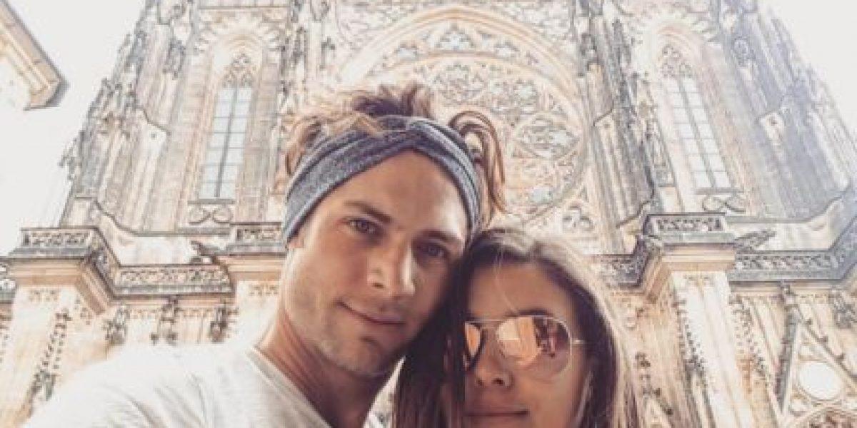 Paulina Goto y Horacio Pancheri, muy románticos en sus vacaciones por Europa