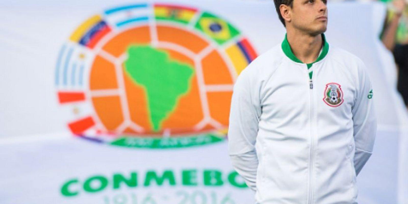 """""""Chicharito"""" Hernández está en la mira de la Juventus Foto:Getty Images"""
