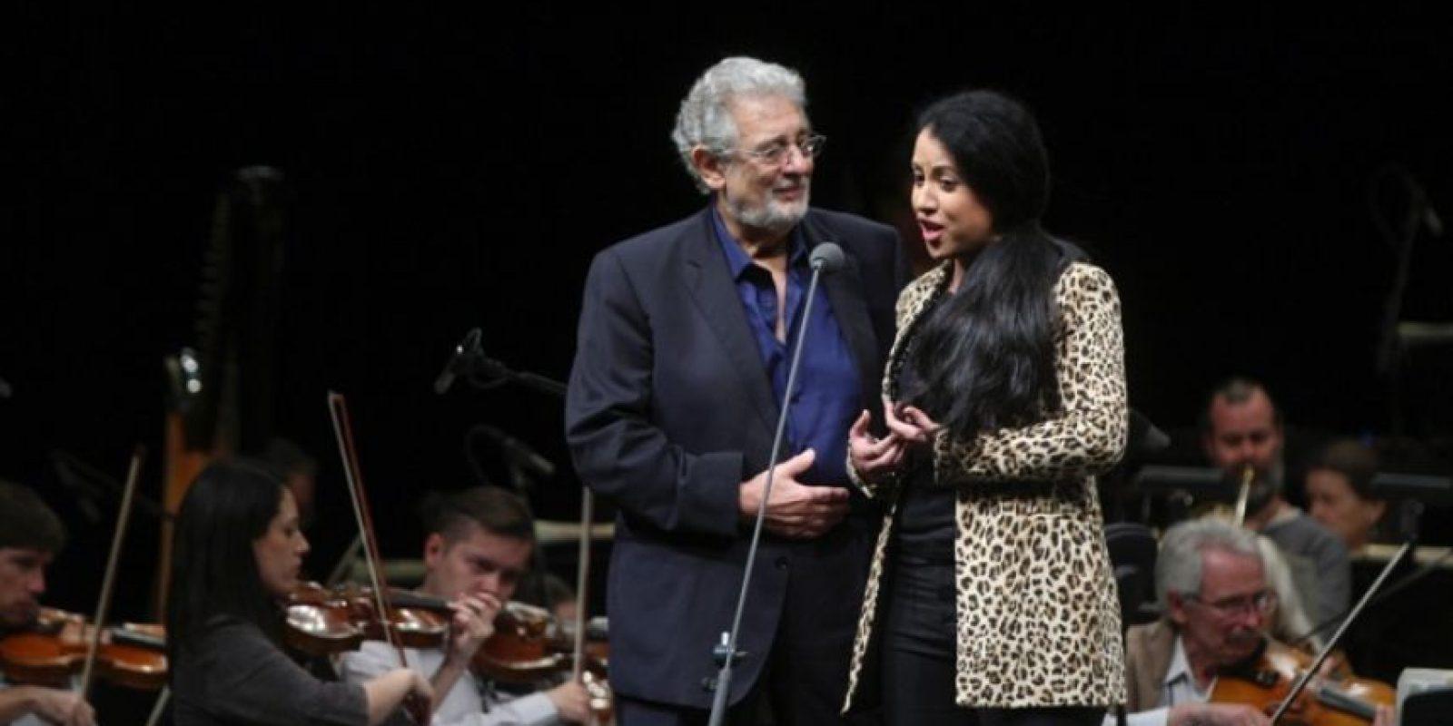 La soprano ha compartido escenario con Plácido Domingo Foto:Cuartoscuro