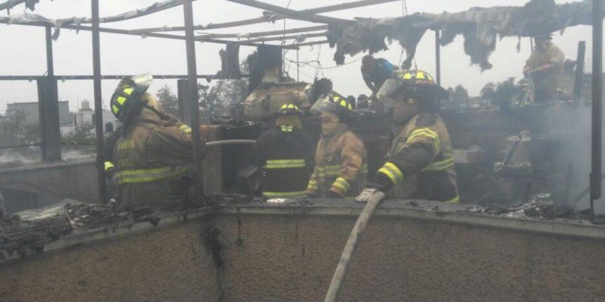 Mueren seis personas tras incendio en Coyoacán