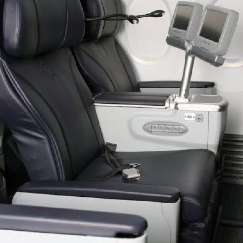 Los aviones de Aeroméxico que operan la ruta de Las Vegas cuentan con sistema de entretenimiento touchscreen. Foto:Especial
