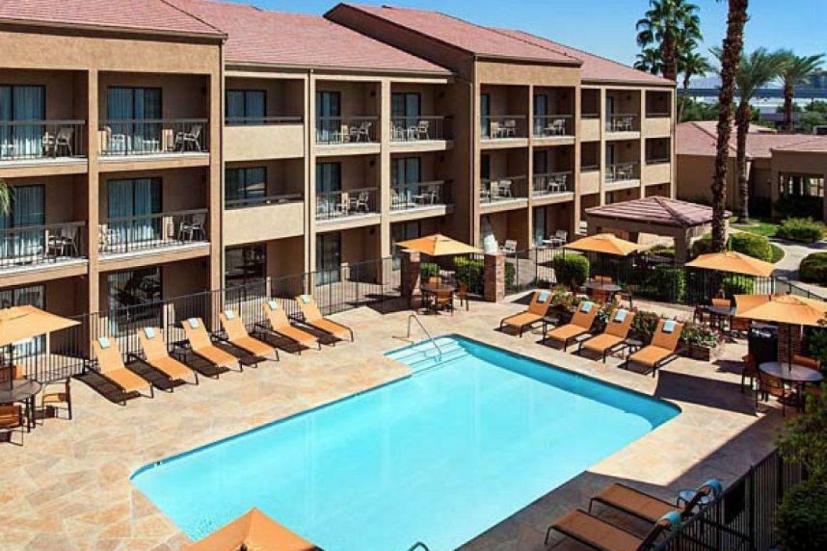 El Courtyard Las Vegas Convention Center es el hotel más cercano al Centro de Convenciones. Foto:Especial