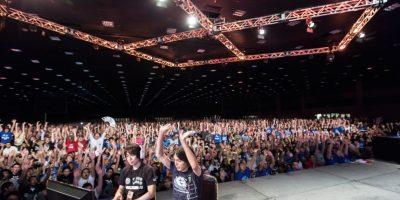 Este torneo de juegos de pelea reúne a más de 12 mil asistentes al año. Foto:David Zhou/EVO