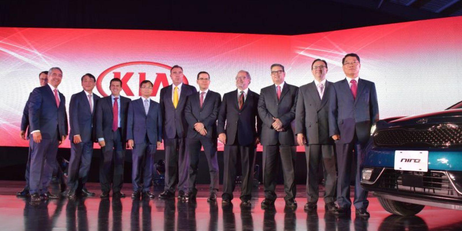 Directivos de KIA en México Foto:Cecilia Arce
