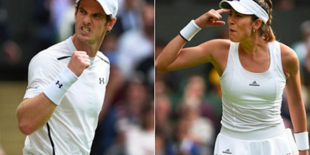 Wimbledon: Murray y Nishikori con paso firme, Muguruza dice adiós