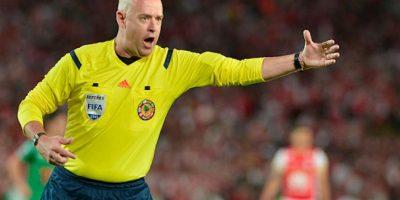 Héber Lopes, árbitro que se encargó de la Final de la Copa América Centenario. Foto:Getty Images